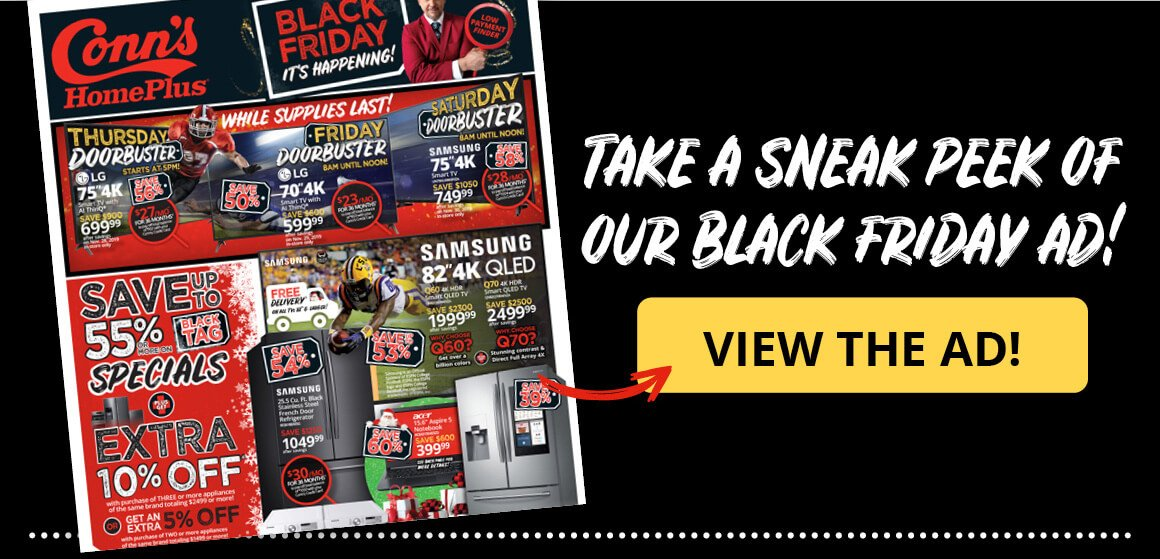 Take A Sneak Peek of Our Black Friday Ad