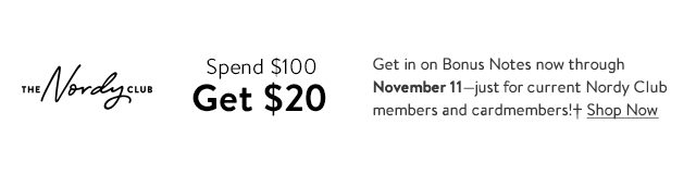 The Nordy Club | Spend $100 Get $20