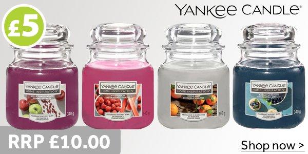 Yankee Jar Candles