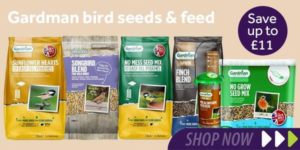 Gardman bird feed