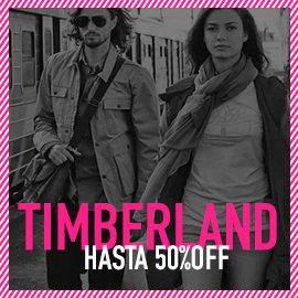 timberland hasta 50% off
