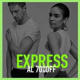 Express al 70% off