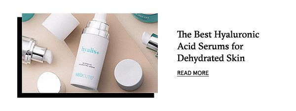 The Best Hyaluronic Acid Serums for Dehydrated Skin