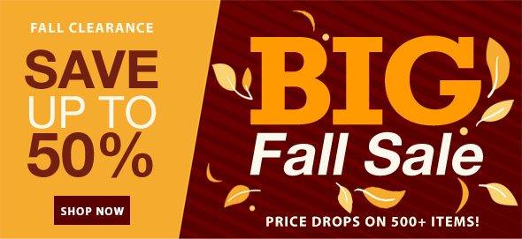 BIG Fall Sale