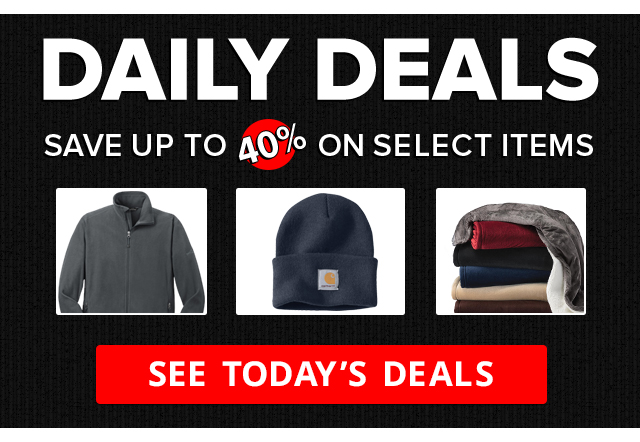 Daily Deals - Save Up to 40% On Select Items