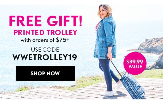 Free Gift! Printed Trolley