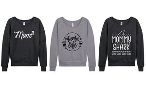 Blessed Mama & Mom Life Cozy Tees. Plus Sizes Available.