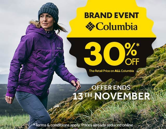 Up to 60% Off Dare2b, Osprey, Columbia and Outwell