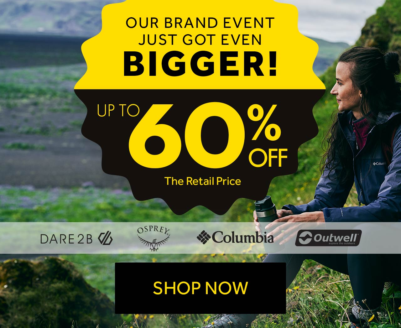 Our Brand Event Just got Bigger!