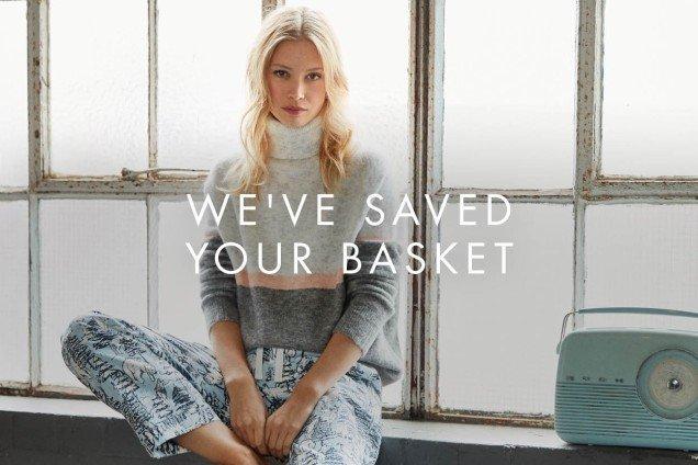 We've saved your basket
