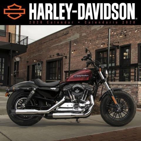 Haley-Davidson Wall Calendar