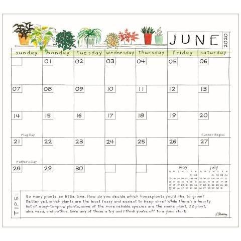 Plant Life Magnetic Calendar