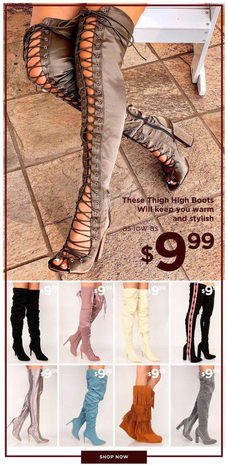Shop $9.99 Boots