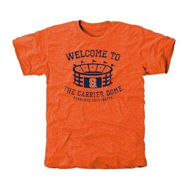 Syracuse Orange Stadium Tri-Blend T-Shirt - Orange
