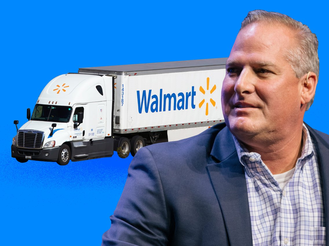 We asked a 17-year Walmart transportation exec everything about the Fortune 1's massive supply chain network — from increasing sustainability to its trucking fleet that's more exclusive than Harvard. Here's the full conversation.
