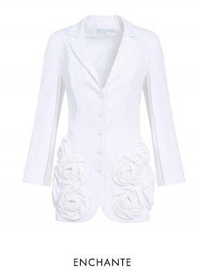 ENCHANTE - WHITE Jacket - Shop Now