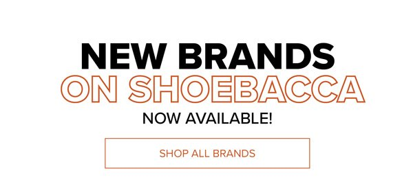 New Brands On Shoebacca | Shop all Brands