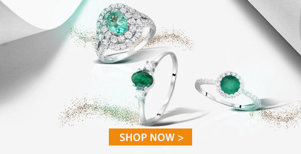 Precious Emerald Jewelry Up to 90% Off