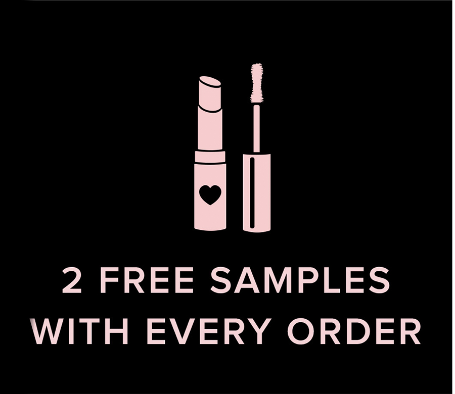 2 Free Samples with Every Order