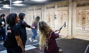 Axe-Throwing Session