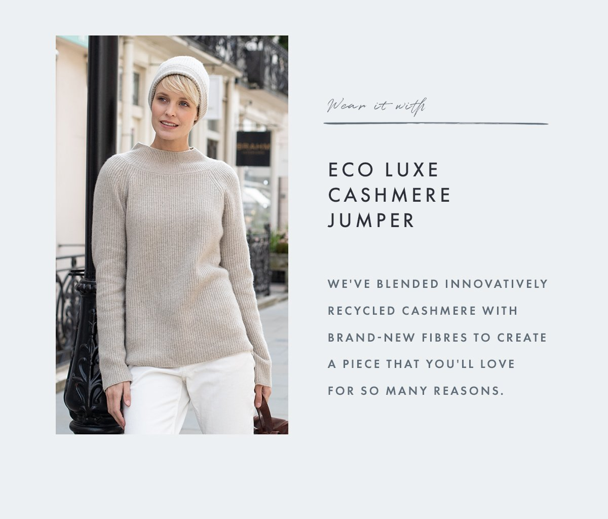Eco Luxe Cashmere Jumper