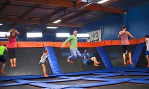 Up to 40% Off Jump Passes at Sky Zone