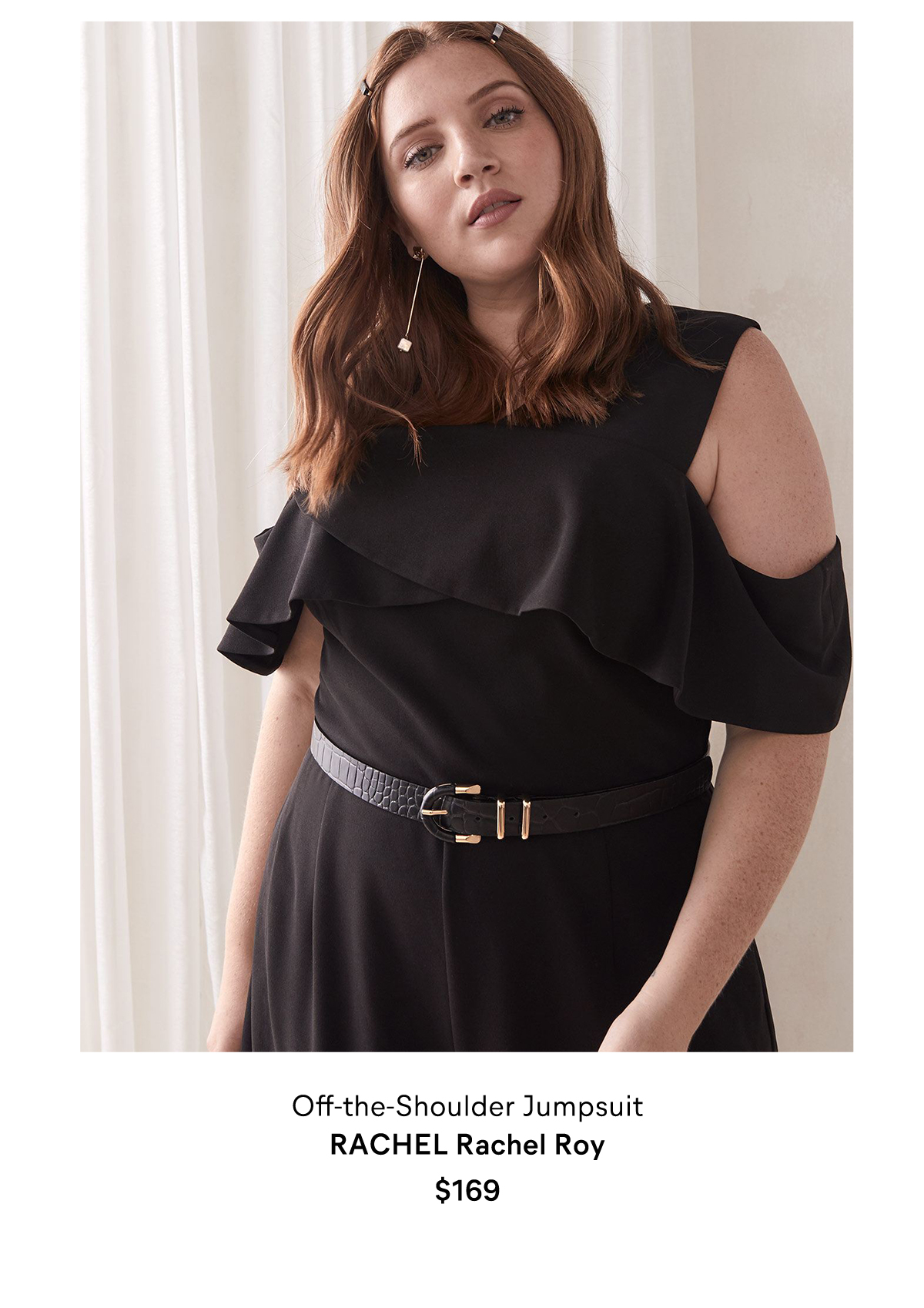 Off-the-Shoulder Jumpsuit - RACHEL Rachel Roy $169 $102