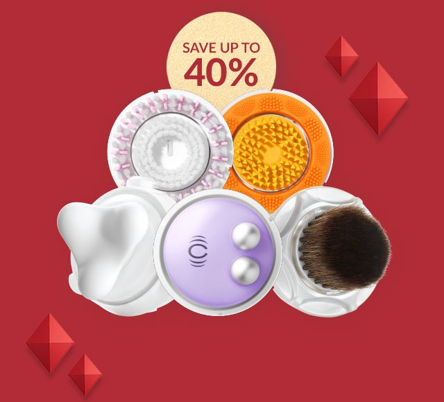 SAVE UP TO 40 PERCENT