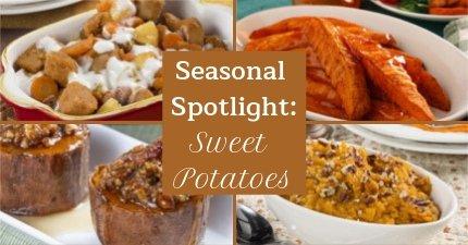 Seasonal Spotlight: Sweet Potatoes