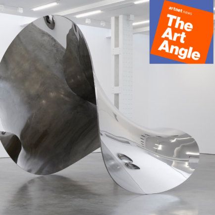 The Art Angle Podcast: Artist Anish Kapoor on Working in China, Owning the World's Blackest Paint, and Negotiating Politics in 2019
