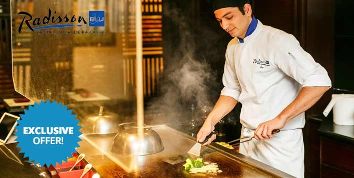 5* Sushi & Teppanyaki Buffet Night at Minato