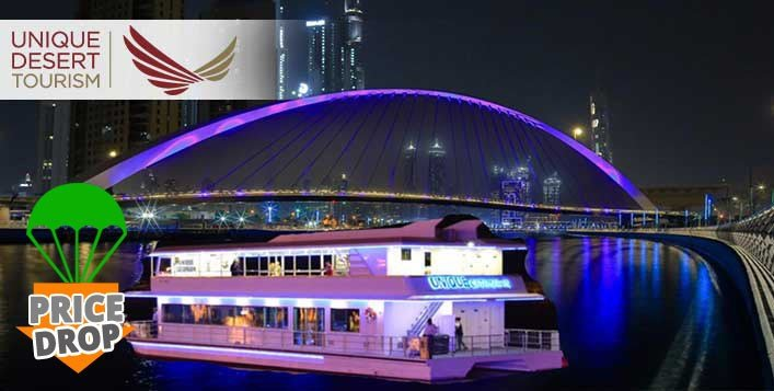 Dubai Water Canal Cruise Package