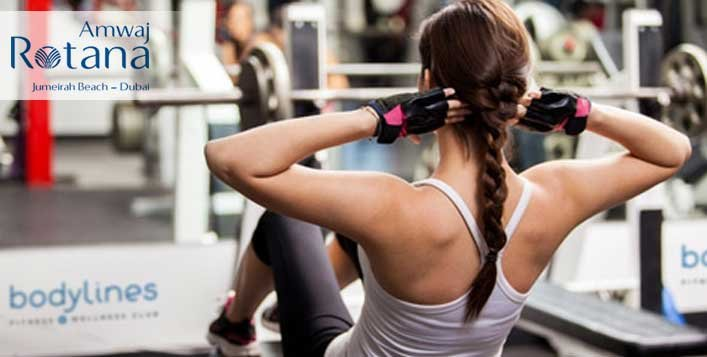 Gym Memberships at Bodylines, Amwaj Rotana