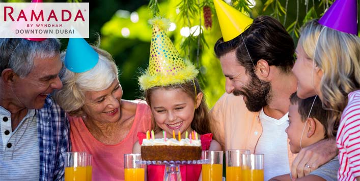 Birthday Party Package for Kids and Adults