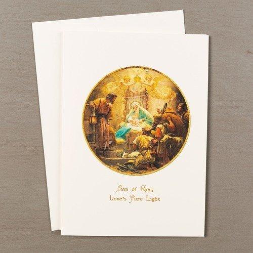 Vidal Adoration of the Shepherds Christmas Cards