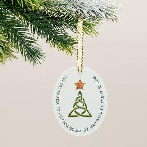 Celtic Irish Blessing Ornament