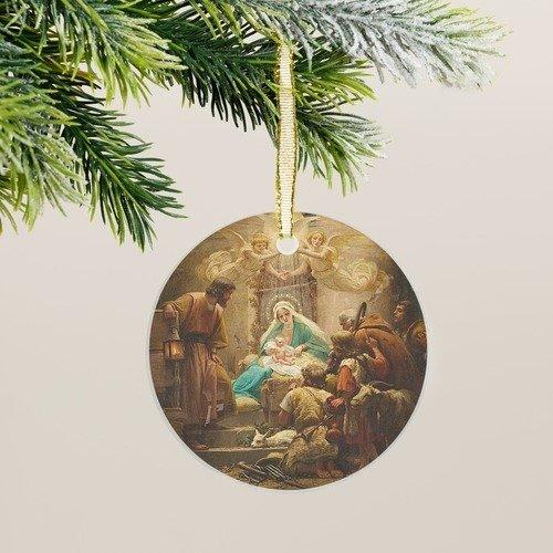 Vidal Adoration of the Shepherds Ornament