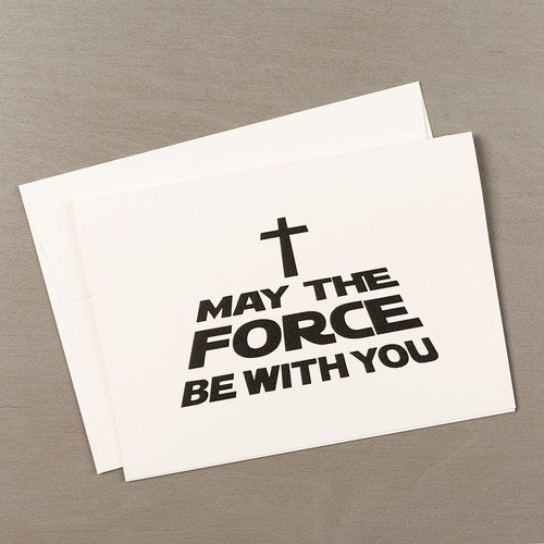 May The Force Be With You Christmas Cards