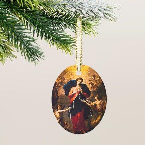 Our Lady Undoer of Knots Ornament