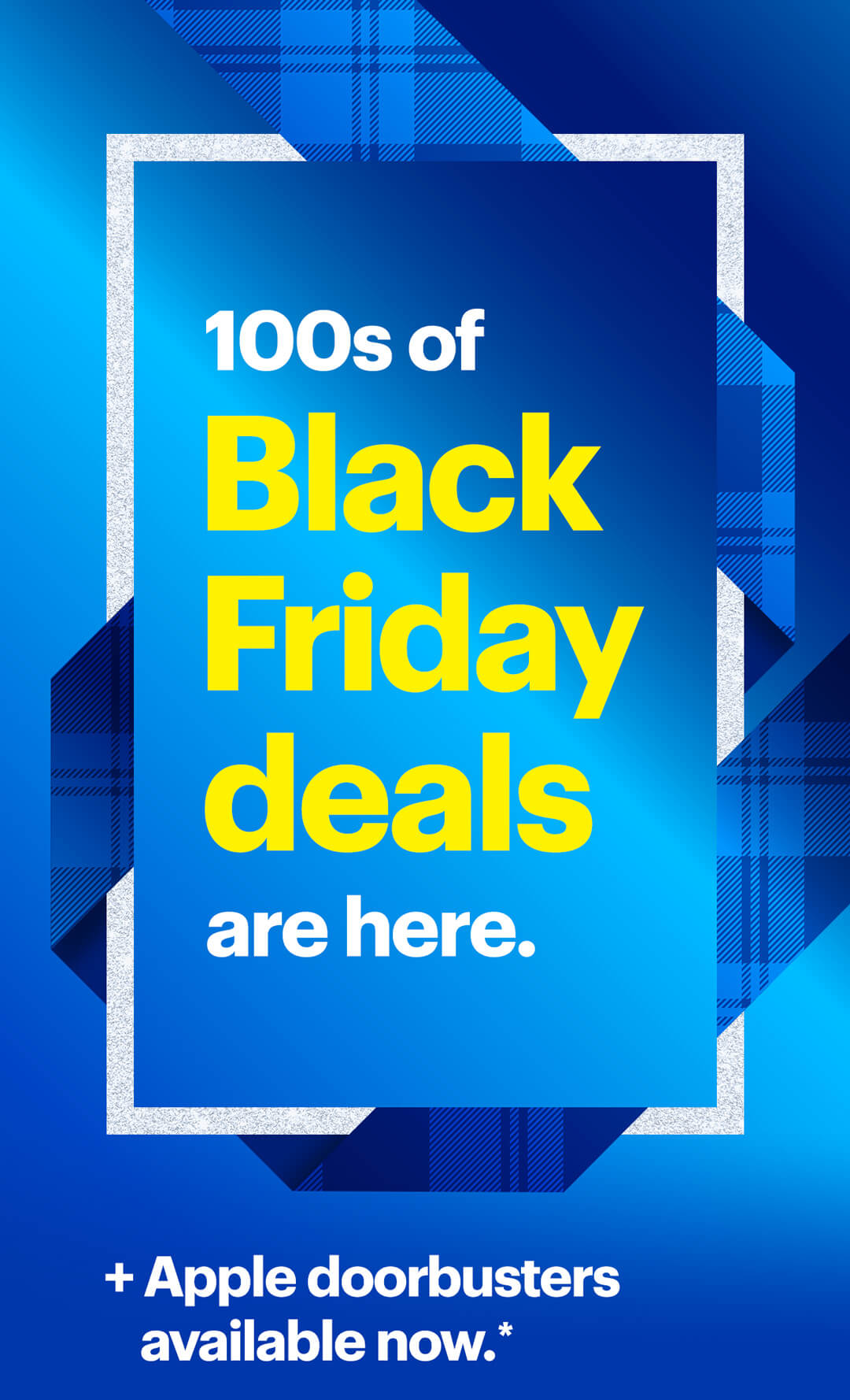 Hundreds of Black Friday deals are here. Plus, Apple doorbusters available now. Reference disclaimer.