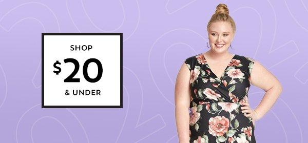 Shop $20 & Under