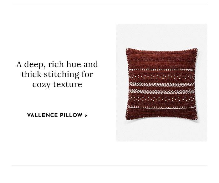 Shop Valence Pillow