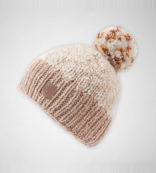 KuSan PK1431 Bobble Hat Toffee Accessories Hats