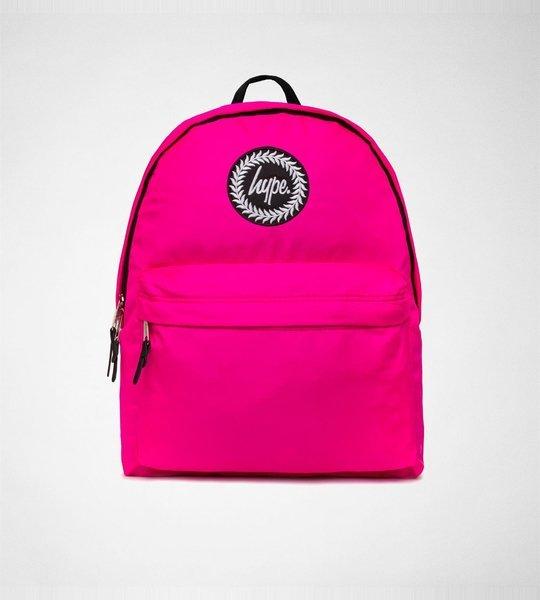 Hype BackPack Purple Fluro Pink Accessories Bags