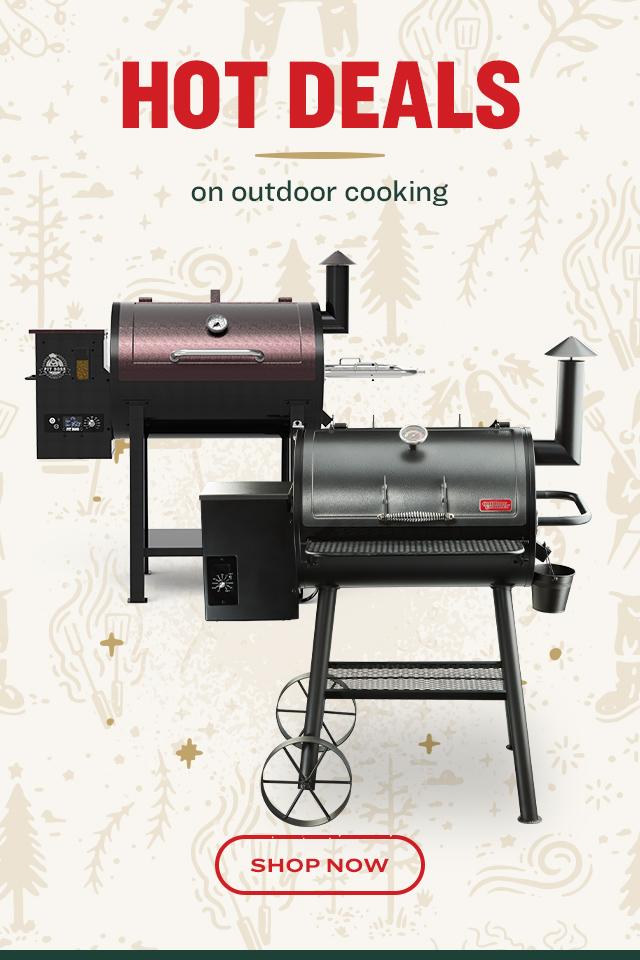 Hot Deals on Outdoor Cooking