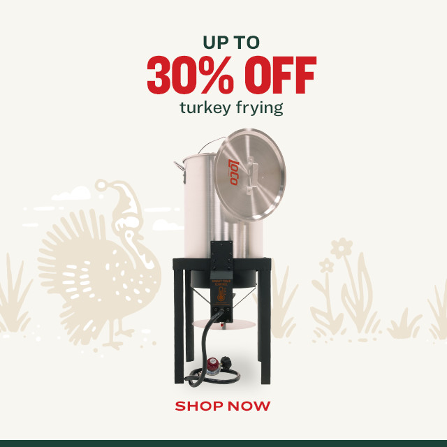 Up to 30% Off Turkey Frying