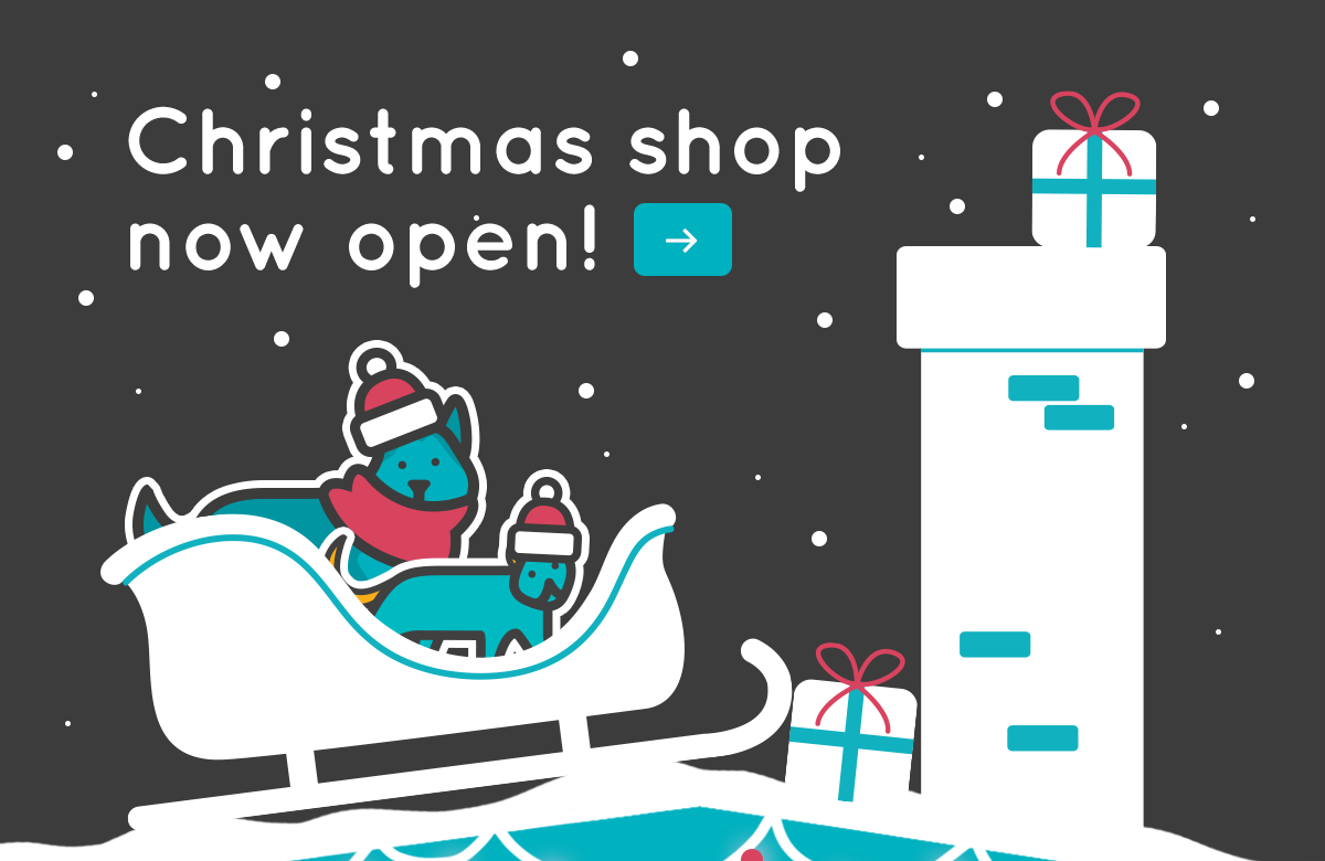 Visit our Christmas Shop today!