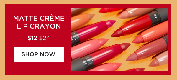 Matte Creme Lip Crayon