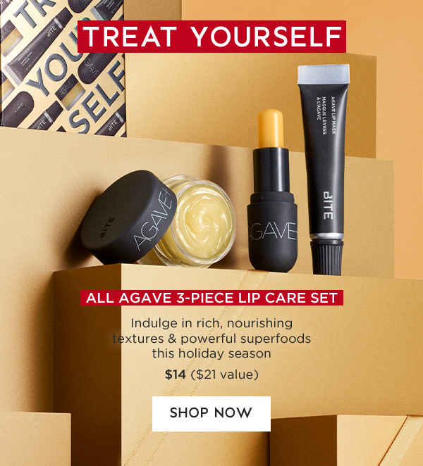 All Agave 3-Piece Lip Care Set