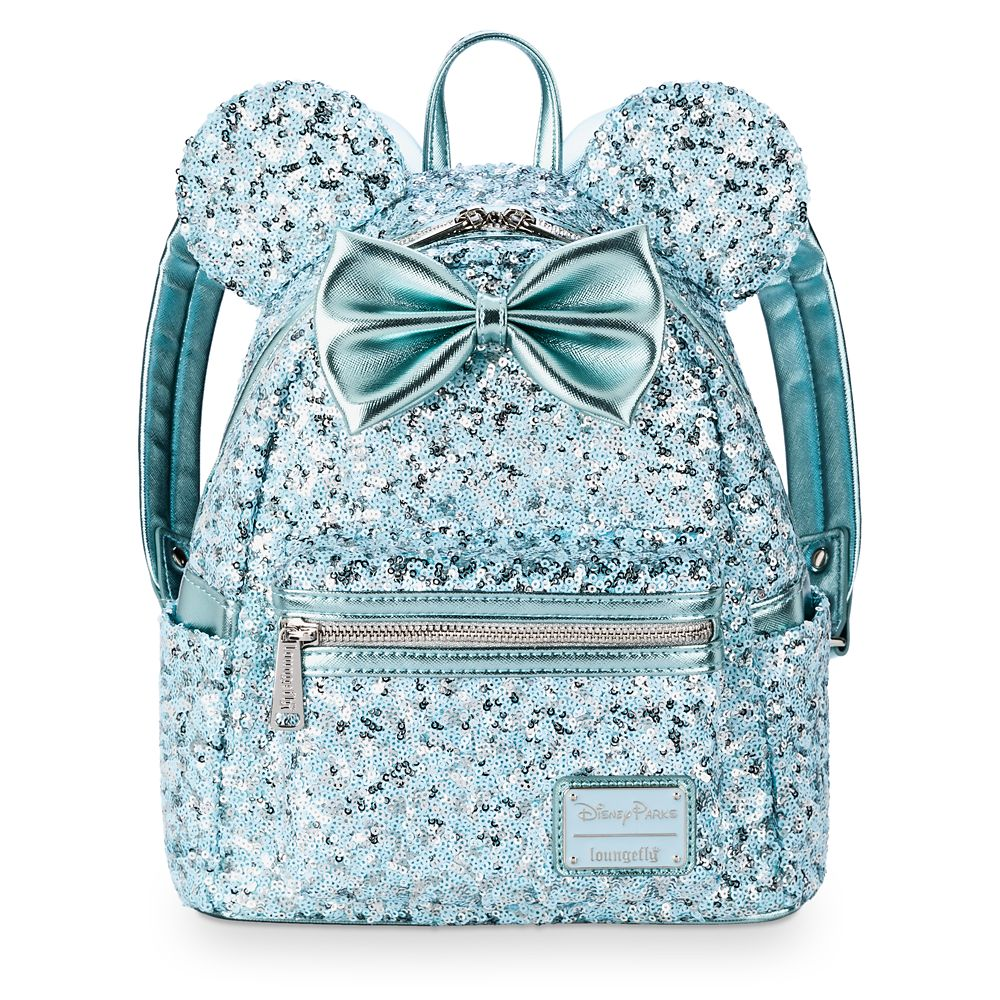Minnie Mouse Sequin Mini Backpack by Loungefly – Arendelle Aqua